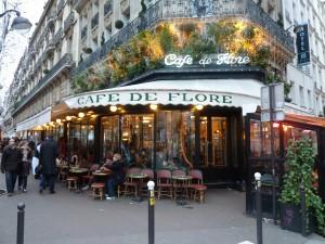 Das Café de Flore.