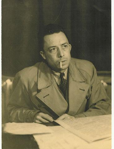 Albert Camus 1957. Foto: Robert Edwards