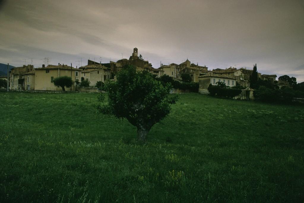 Lourmarin, Ansicht des Dorfes. Foto: Christian von Alvensleben