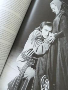 Jean Vilar und Maria Casarès als Lord und Lady Macbeth.