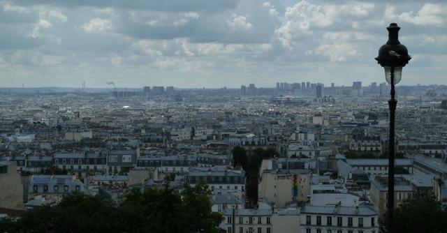 Blick vom Butte Montmartre aus auf die Stadt. ©Foto: Anne-Kathrin Reif
