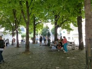 Platz Rue Ravignan