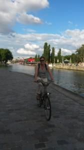 Mit dem Velib durch Paris. Foto: privat