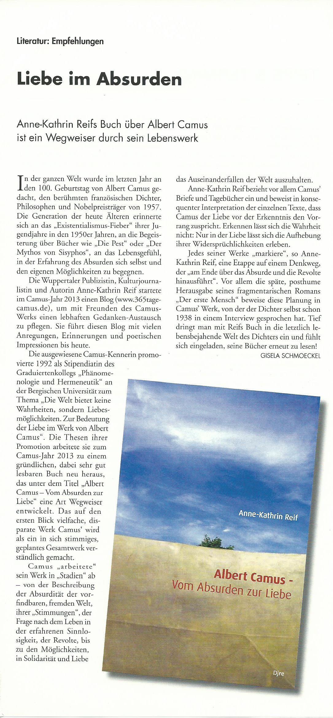 Bergische Blätter 23.2014