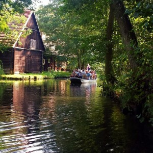 Auf Wasserwegen durch den Spreewald. ©Foto: Rauni Schulze