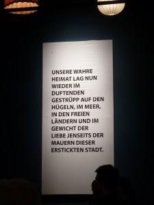 """Aus der Frank Heuels Inszenierung von """"Die Pest"""" im theater im ballsaal, Bonn. Foto: akr"""